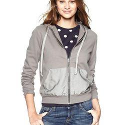 Fleece hoodie, $69.95