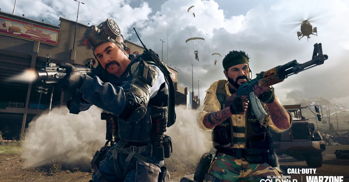 Call of Duty: Warzone pulls a Fortnite with the launch of its new map