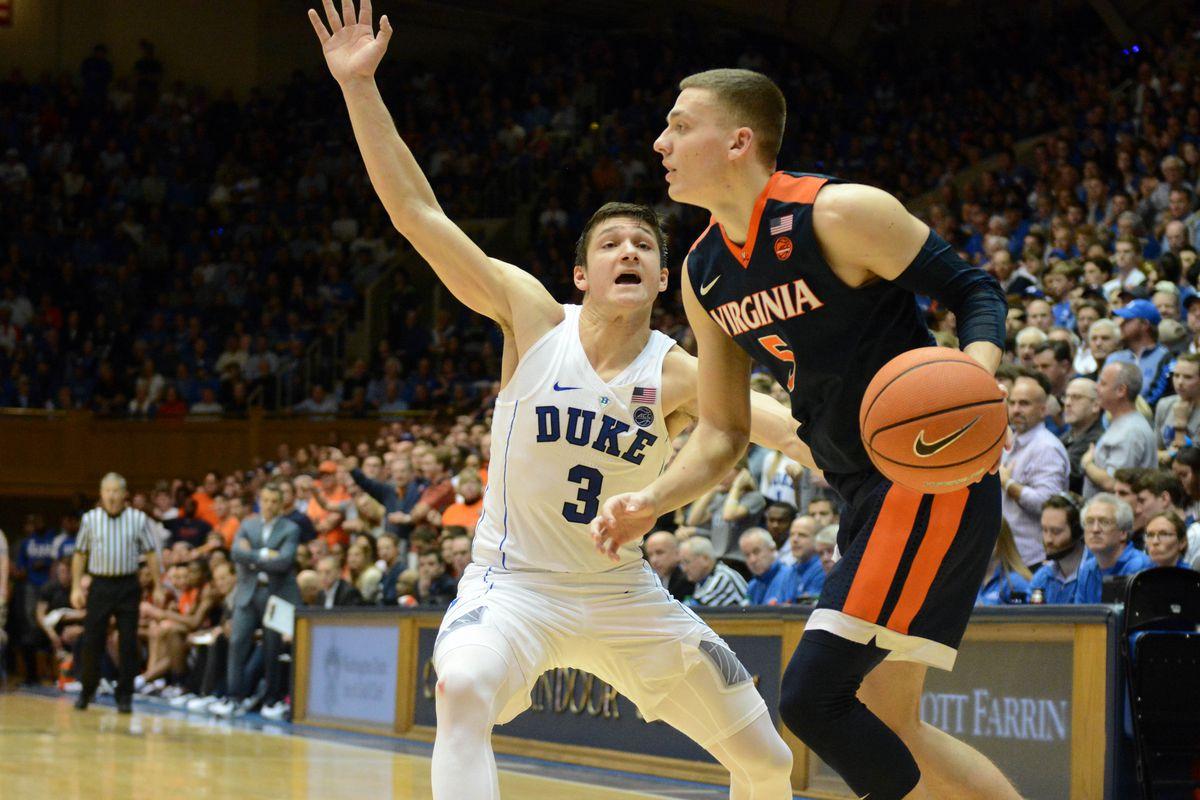 NCAA Basketball: Virginia at Duke