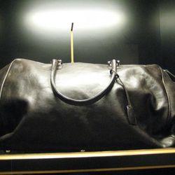 Galt LLC leather weekender bag, $1,595