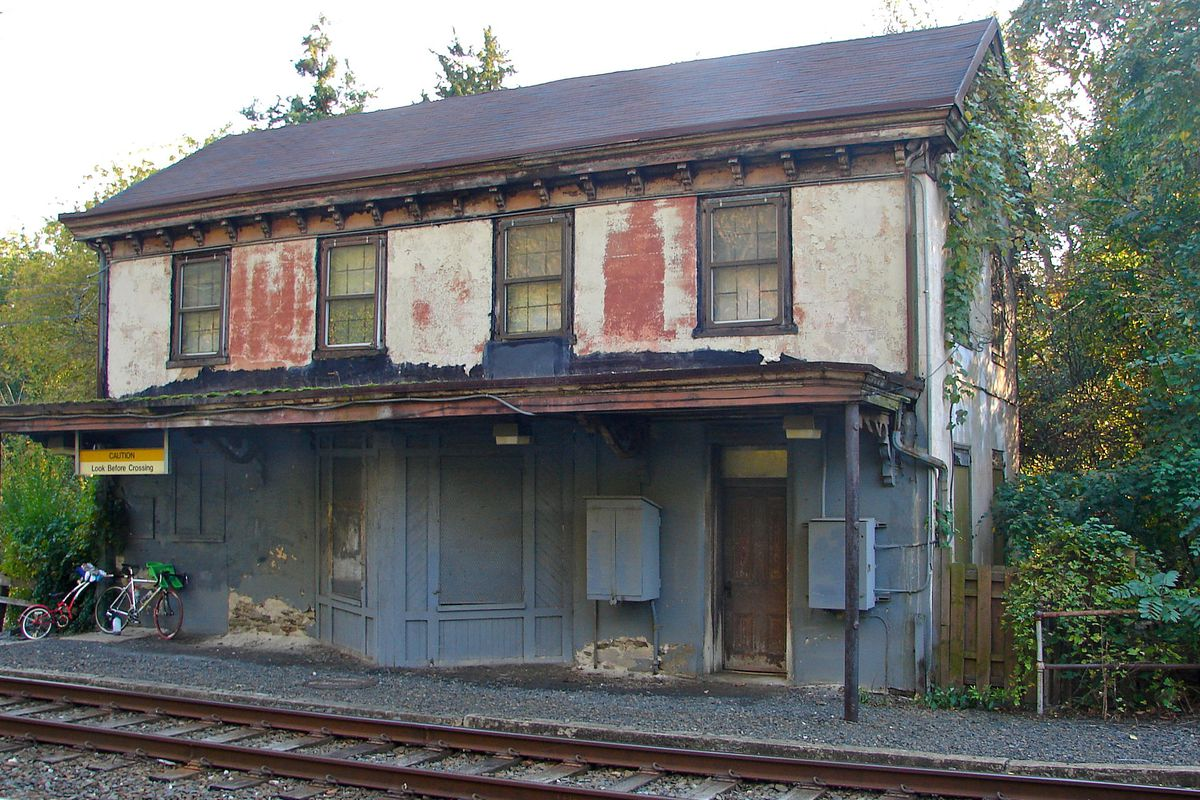Historic Shawmont Train Station To Be Restored With 1m Boost