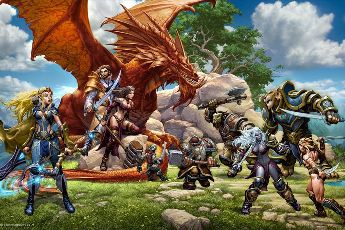 EverQuest Next's first four classes are all about magic and
