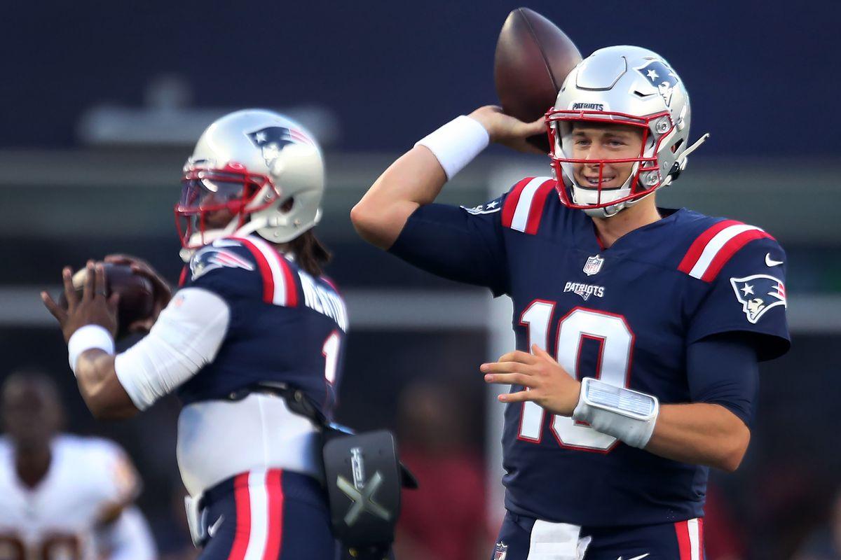 Washington Football Team Vs. New England Patriots At Gillette Stadium