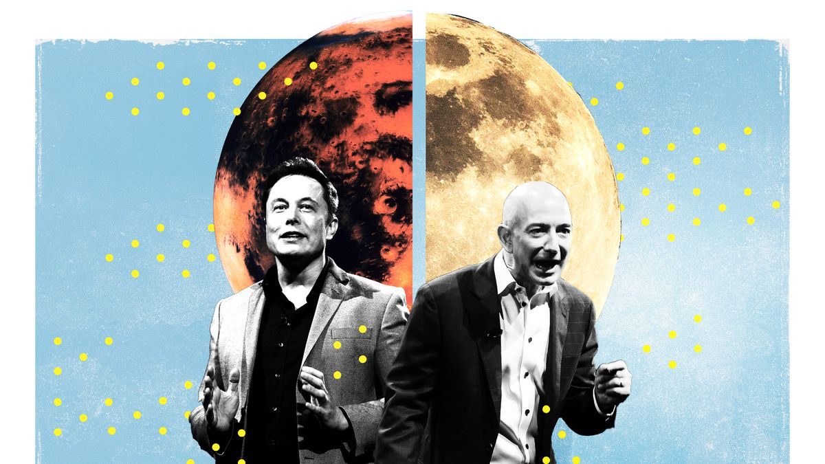Jeff Bezos And Elon Musk Want To Colonize Space To Save Humanity Vox