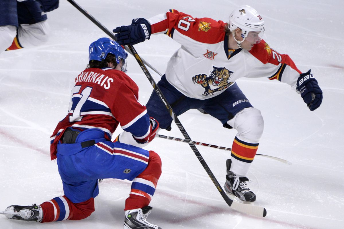 The Panthers will be looking for another win at the Bell Centre.