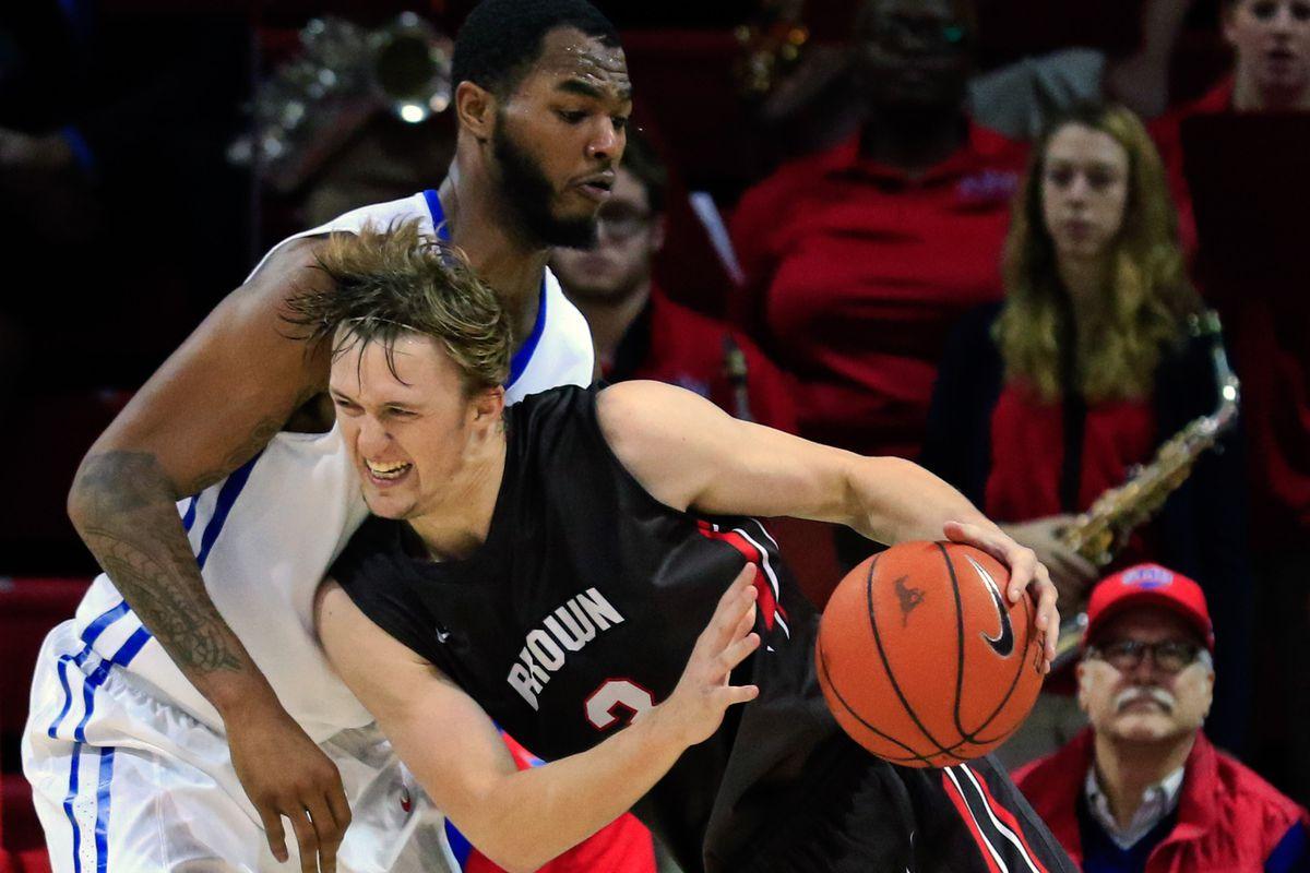 NCAA Basketball: Brown at Southern Methodist
