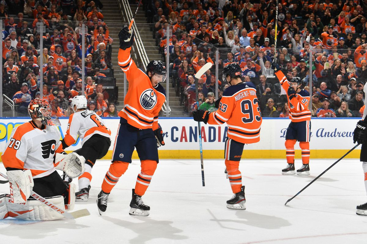Oilers 6, Flyers 3: Taking stock of things after a winless Canada trip