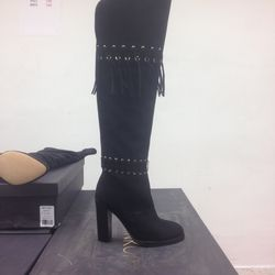 Grab this over-the-knee boot now for $100 and save it for fall.