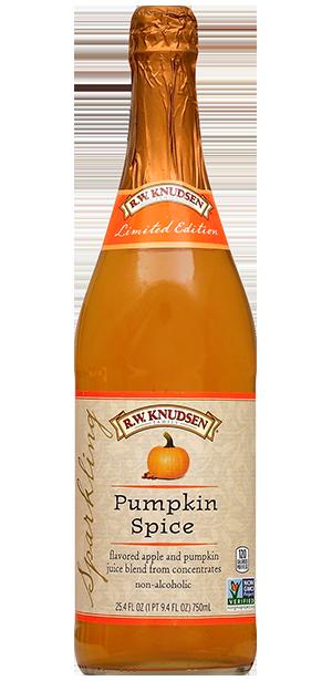 R.W. Knudsen Sparkling Pumpkin Spice beverage