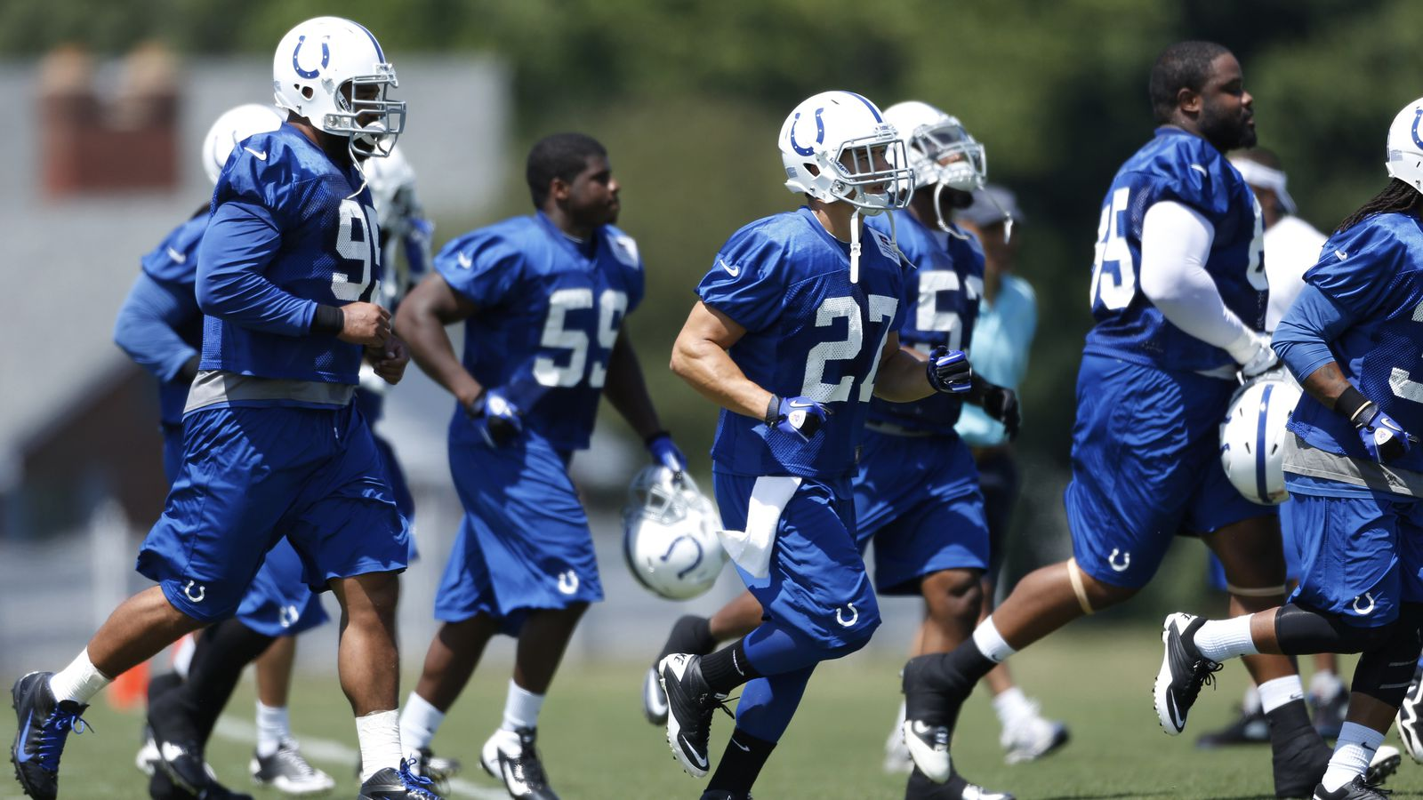 Colts Depth Chart