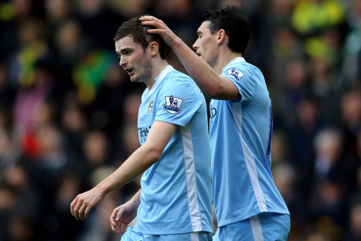 Adam Johnson: apparently less worthy of a first-team place than Gareth Barry.