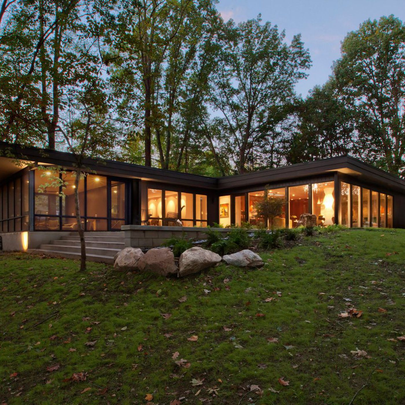 32s home gets contemporary overhaul in Indiana   Curbed