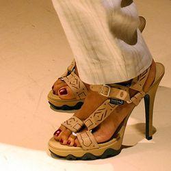 Grey Ant's Teva heels.