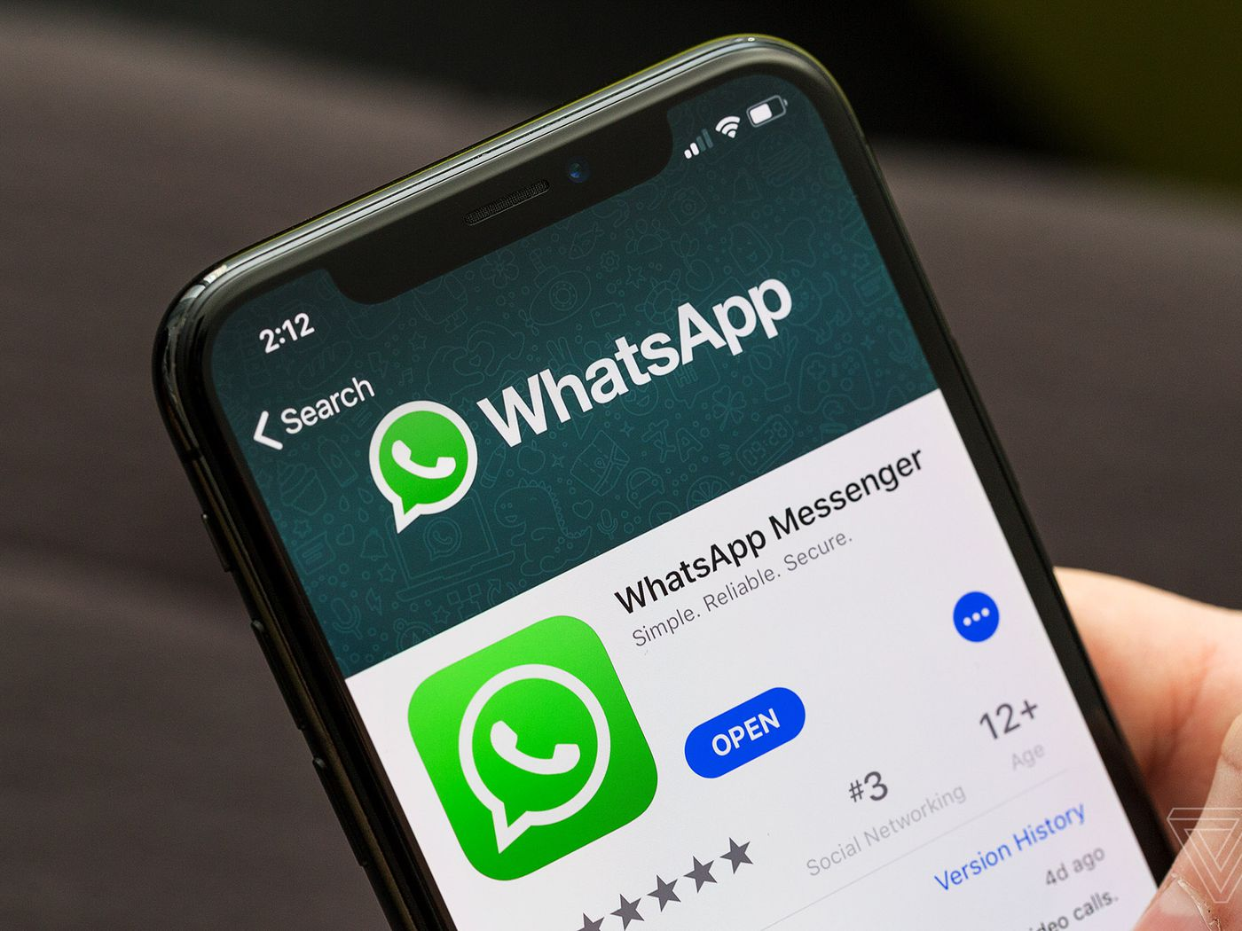 WhatsApp says users must be 16 or older to access the app in