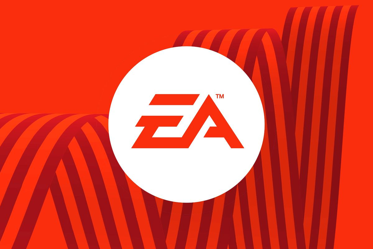 EA logo on red background