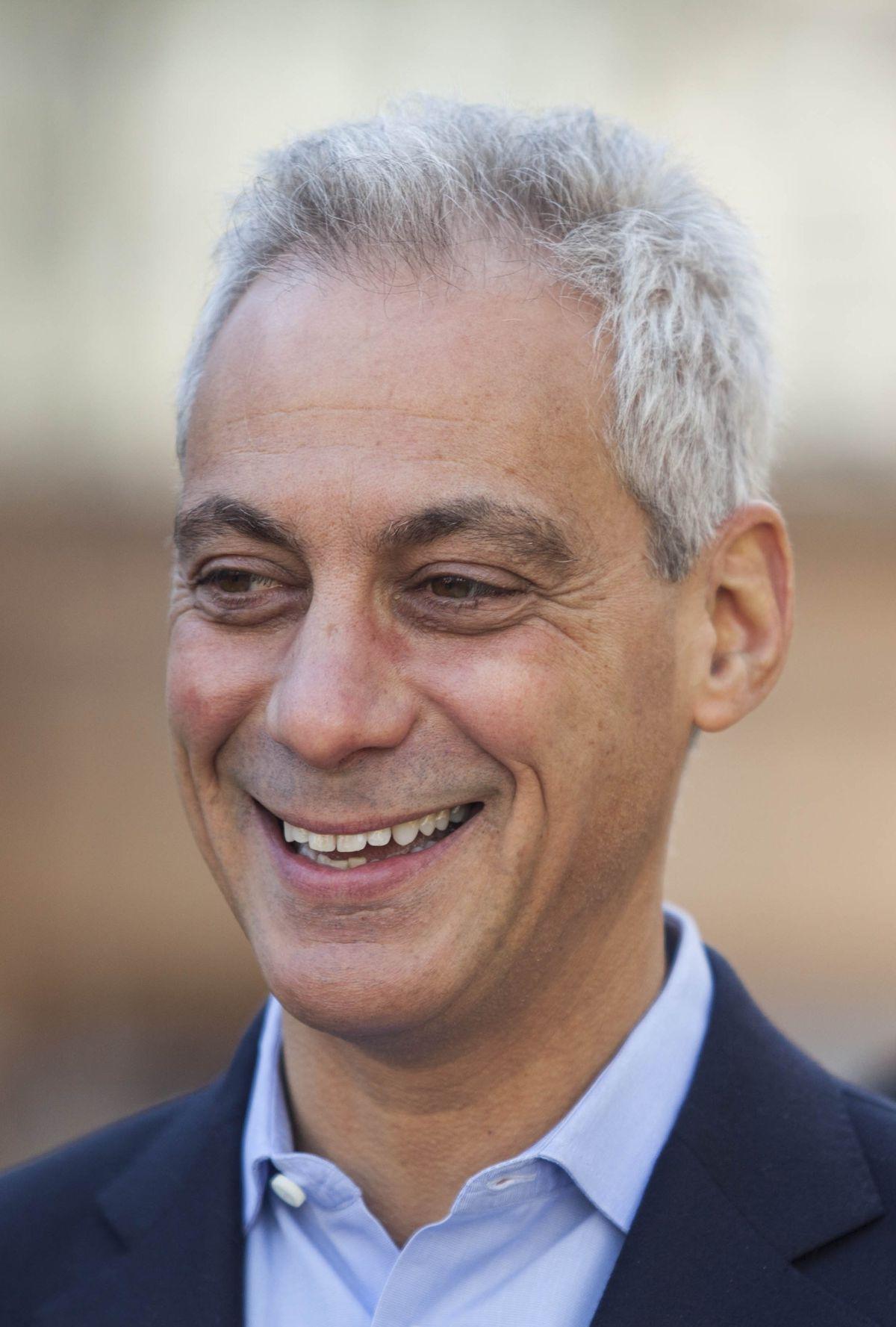 Mayor Rahm Emanuel | Maria Cardona/ Sun-Times