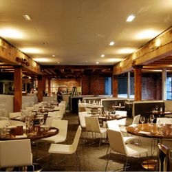 9,800-square-foot in total is largely made up of this 120 seat dining area