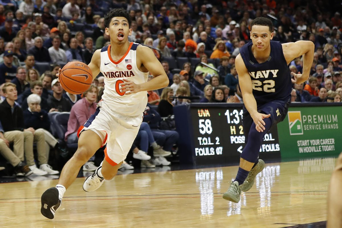 NCAA Basketball: Navy at Virginia