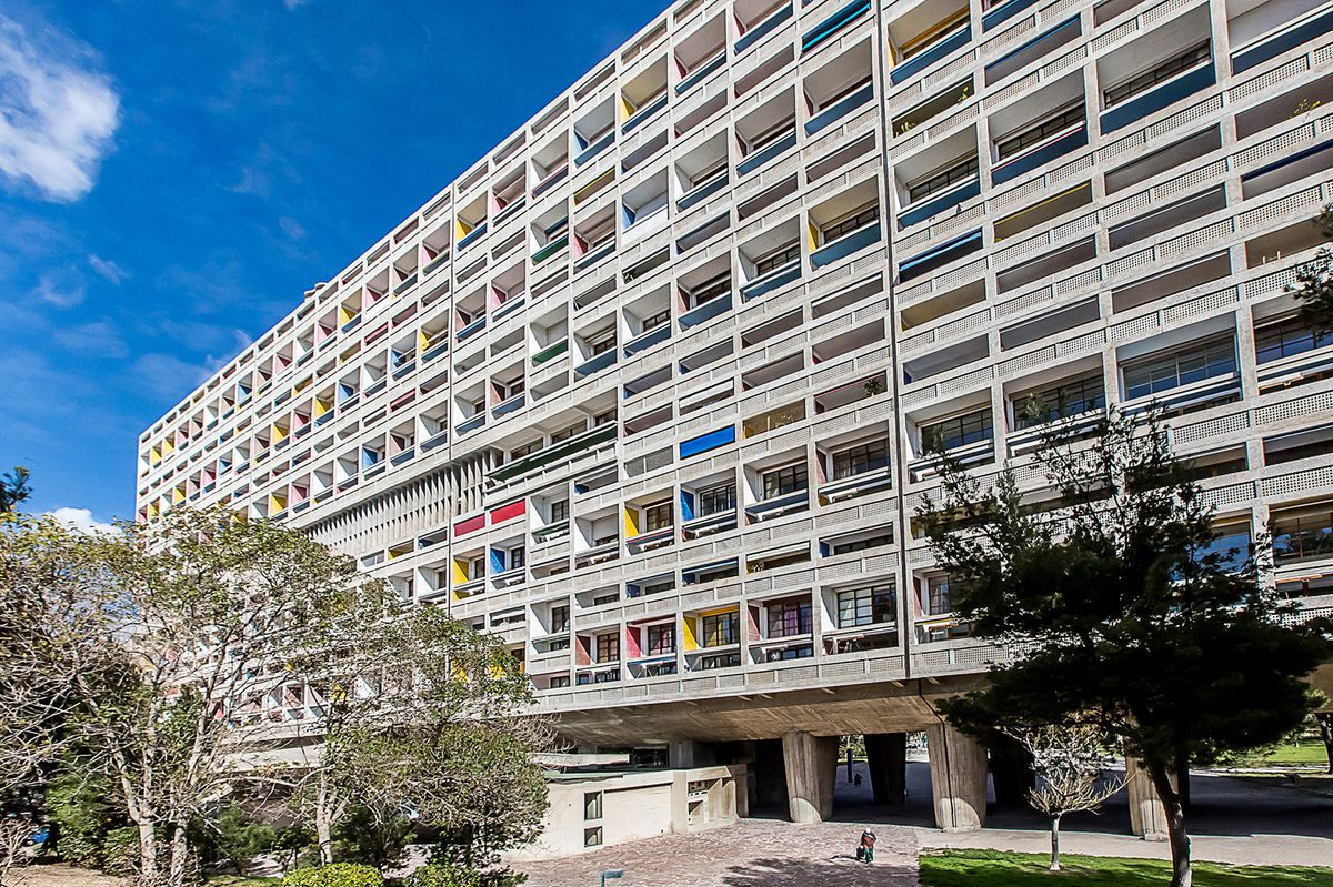Made Of Béton Brut Concrete And Finished In 1952 The Structure Is Hailed As First Brutalist Building Was Designated An Unesco World Heritage