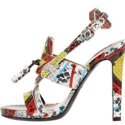 "<b>Proenza Schouler</b> Snake-Print strappy sandal, $795 at <a href=""http://www.bergdorfgoodman.com/store/catalog/prod.jhtml?itemId=prod75600007&parentId=cat378802&ecid=BGALRHy3bqNL2jtQ"">Bergdorf Goodman</a>."
