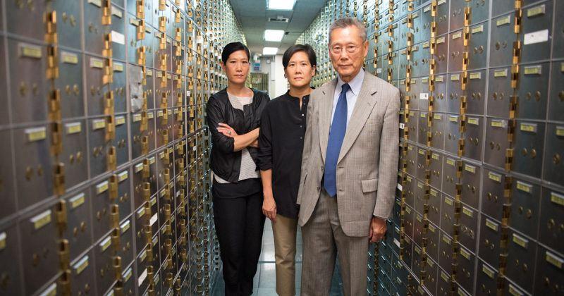 Vera, Jill, and Thomas Sung.
