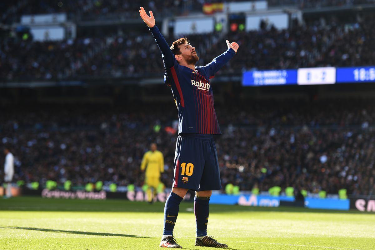 El Barcelona y Messi dejan la liga medio sentenciada en el Bernabeu con un contundente 0-3.