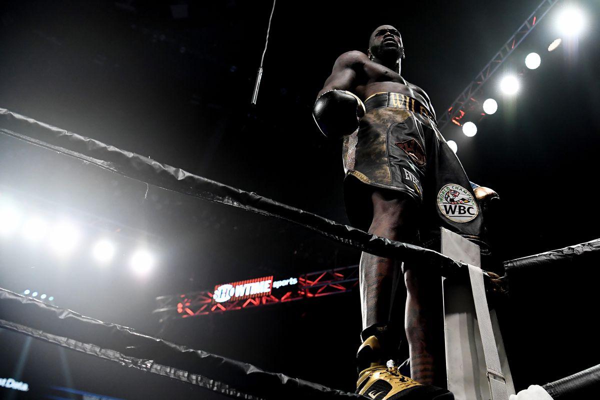 "<p zoompage-fontsize=""15"" style="""">Boxing: Wilder vs Breazeale"