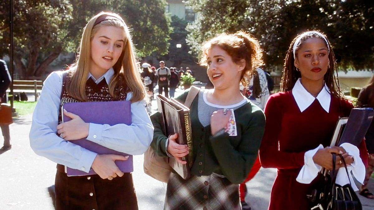 """20120709 Alicia Silverstone, left, Brittany Murphy and Stacey Dash star in """"Clueless"""" (1995), to be shown at the Tower Theater in late August."""