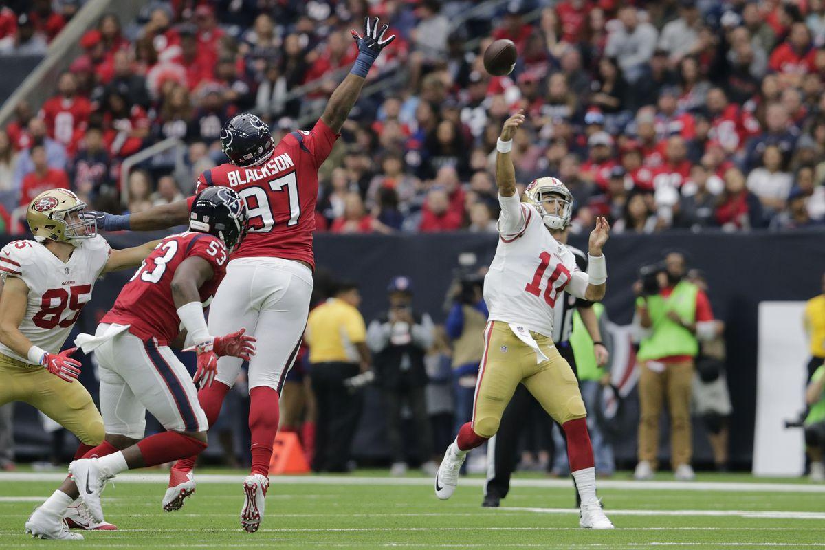 San Francisco 49ers v Houston Texans