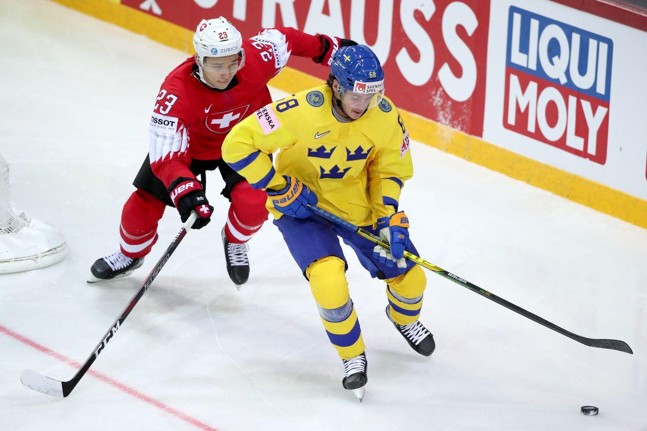 2021 IIHF World Championship, Group A: Switzerland vs Sweden
