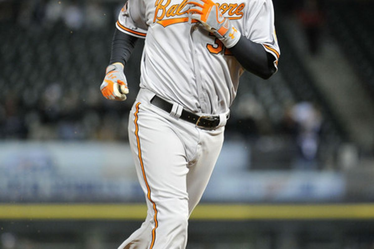 Matt Wieters started the comeback with this eighth-inning homer, then finished it with a slam.