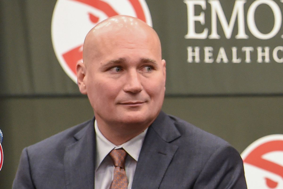 Hawks GM Travis Schlenk cites chance to 'package picks and