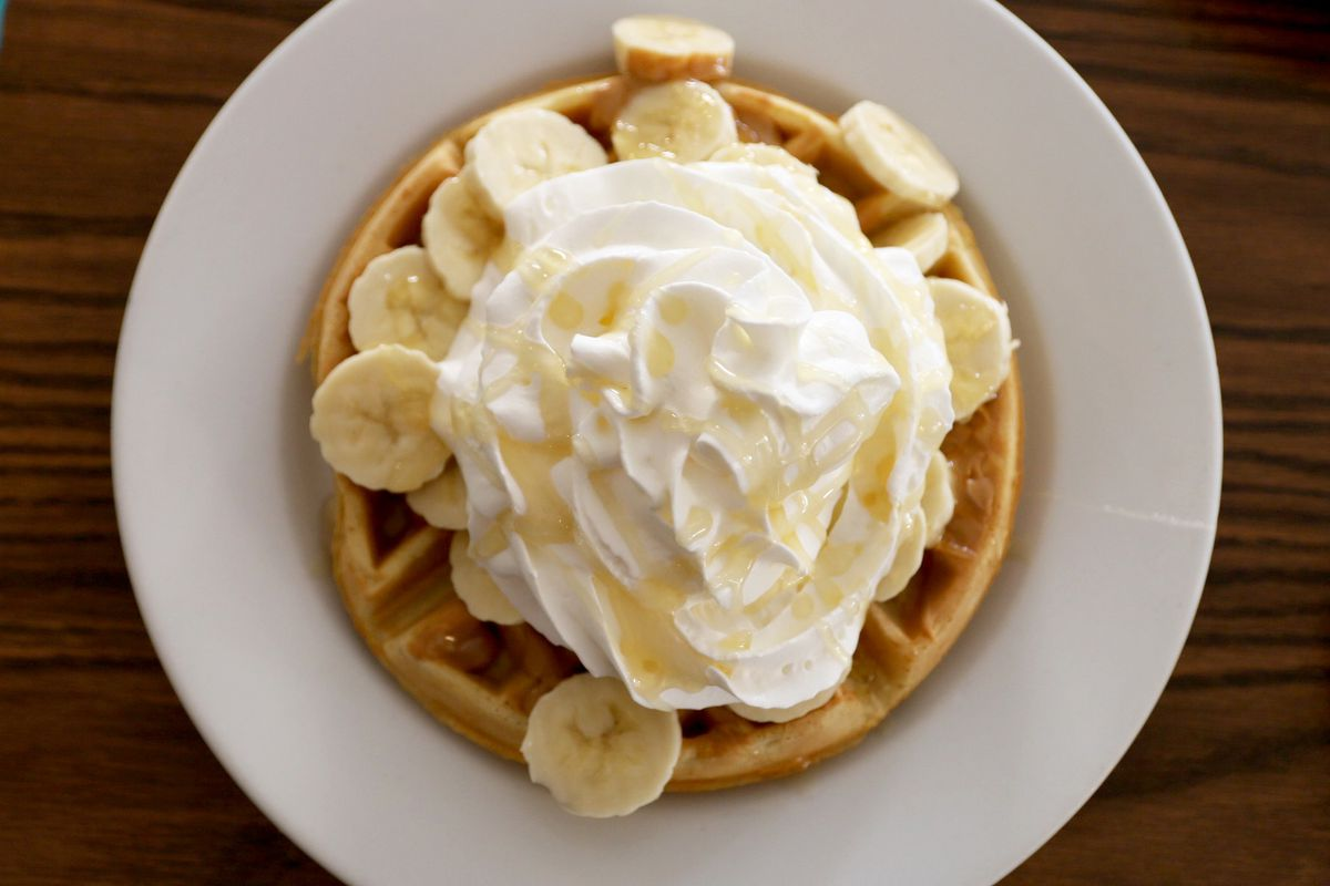 A waffle at My Diner