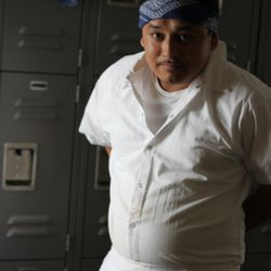 Julio, suited up