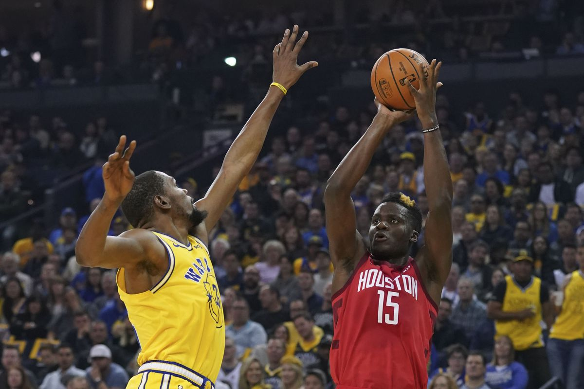 36b4cd11709 Houston Rockets vs. Golden State Warriors Game 1 preview - The Dream ...