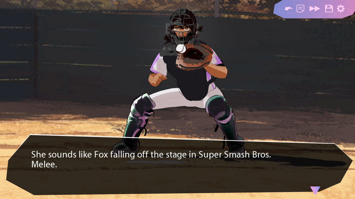 super smash reference in butterfly soup