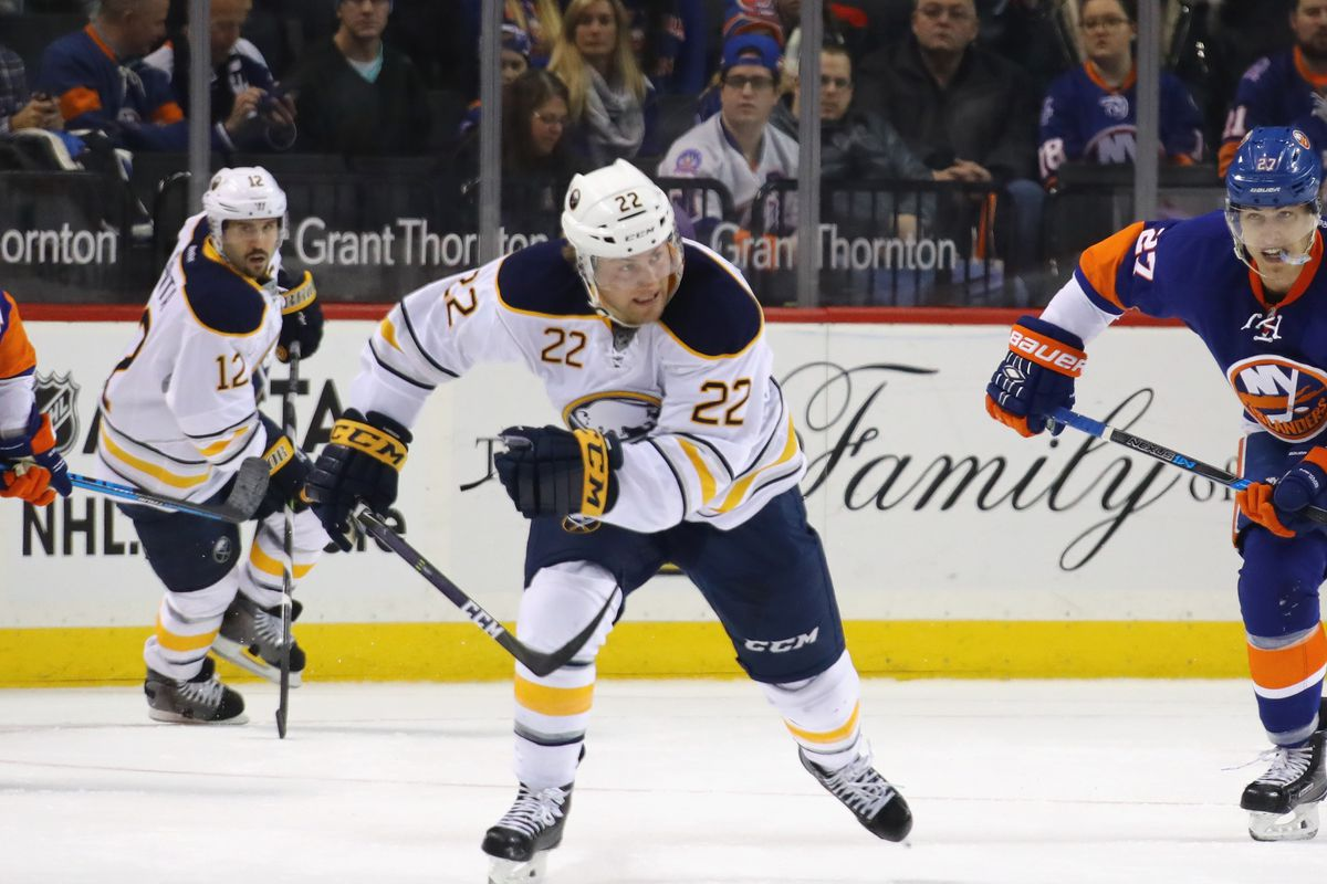 Sabres sign Johan Larsson to two-year extension - Die By The Blade d86f6b0a7a7