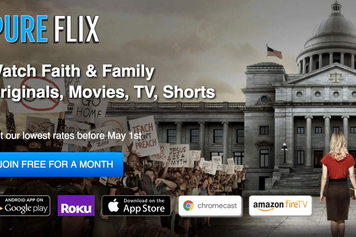 Want to watch a movie on PureFlix.com? PureFlix.com announced Tuesday that it will add its service to Android-based platforms and Apple TV.
