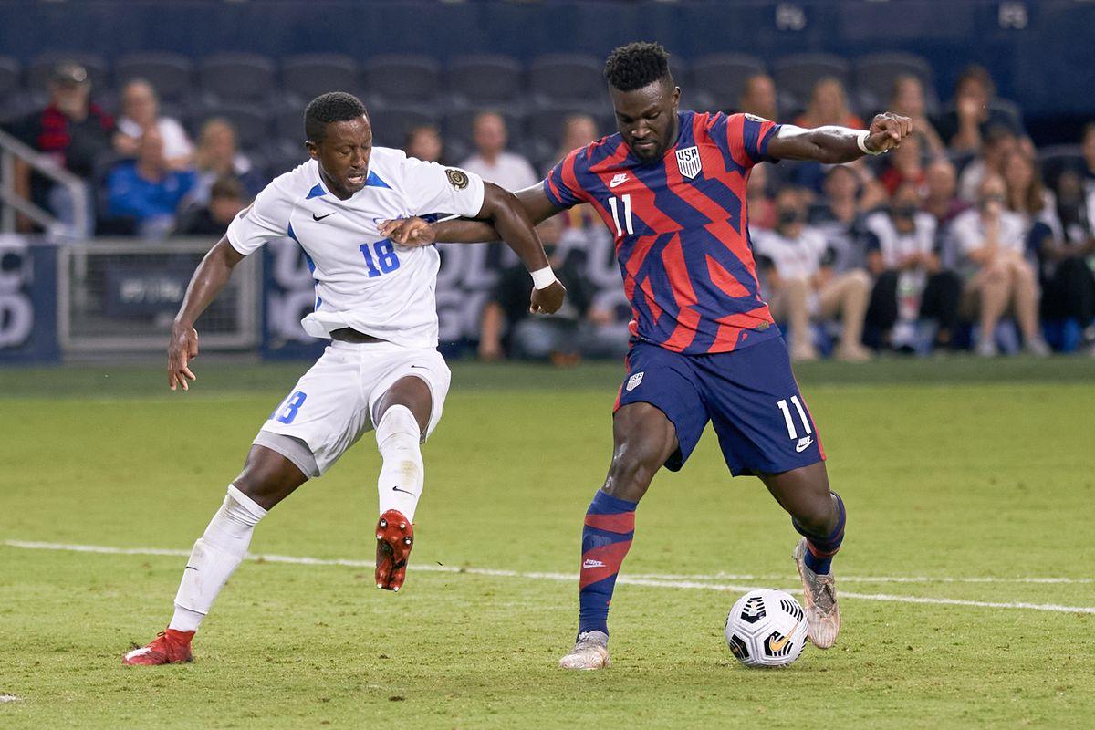 SOCCER: JUL 15 Concacaf Gold Cup - Martinique v USA