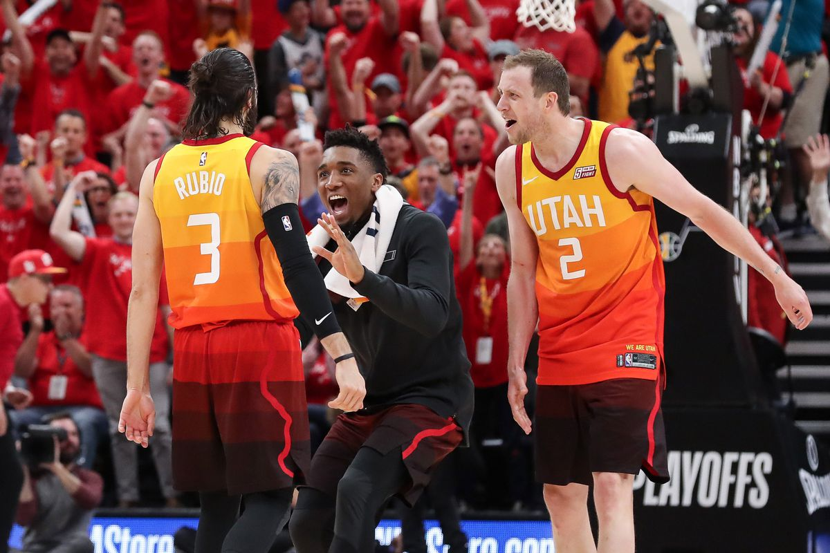 2018 NBA Playoffs  The Utah Jazz are not supposed to be here. - SLC Dunk 6ef92f935