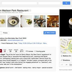 """<a href=""""http://eater.com/archives/2012/05/30/trainwrecks-google-integrates-zagats-ratings-reviews.php"""">Trainwrecks: Google+ Integrates Zagat's Ratings, Reviews</a>"""