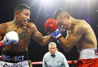Miguel Berchelt vs Francisco Vargas action1 - Boxing Results Roundup for May 10-11