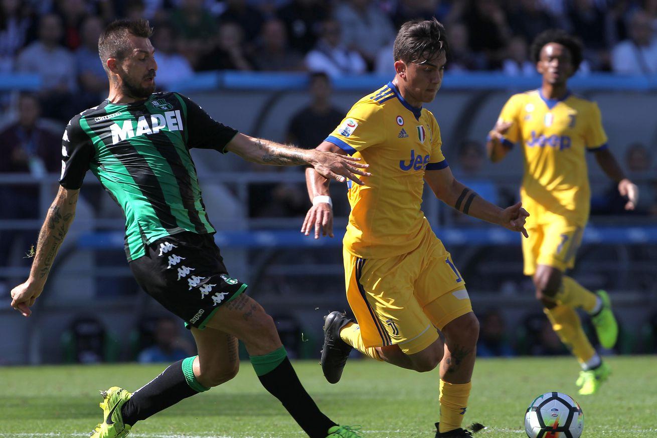 Round No. 4: Juventus vs. Sassuolo match preview