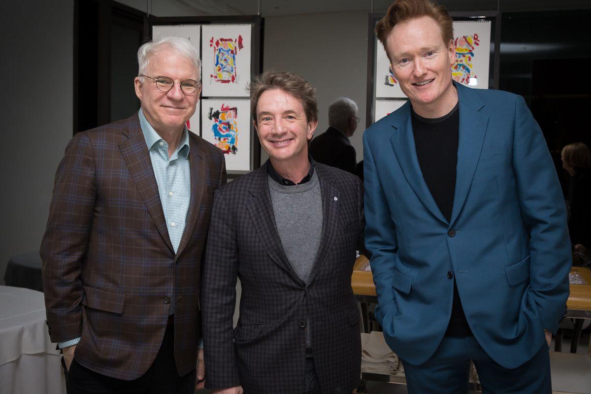 Steve Martin, Martin Short and Conan O'Brien at Mr Chow