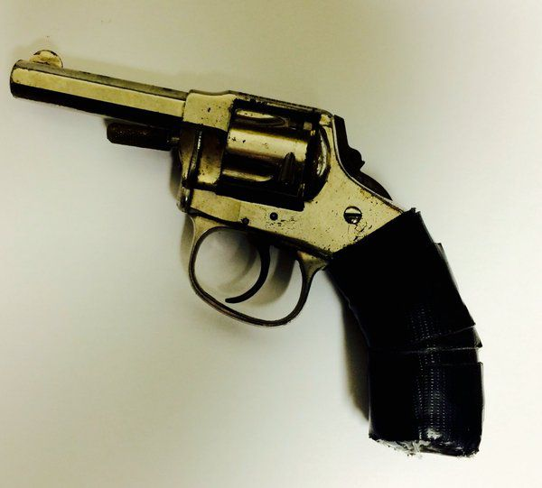 This handgun was recovered from an alley early Saturday in north suburban Evanston. | Evanston police