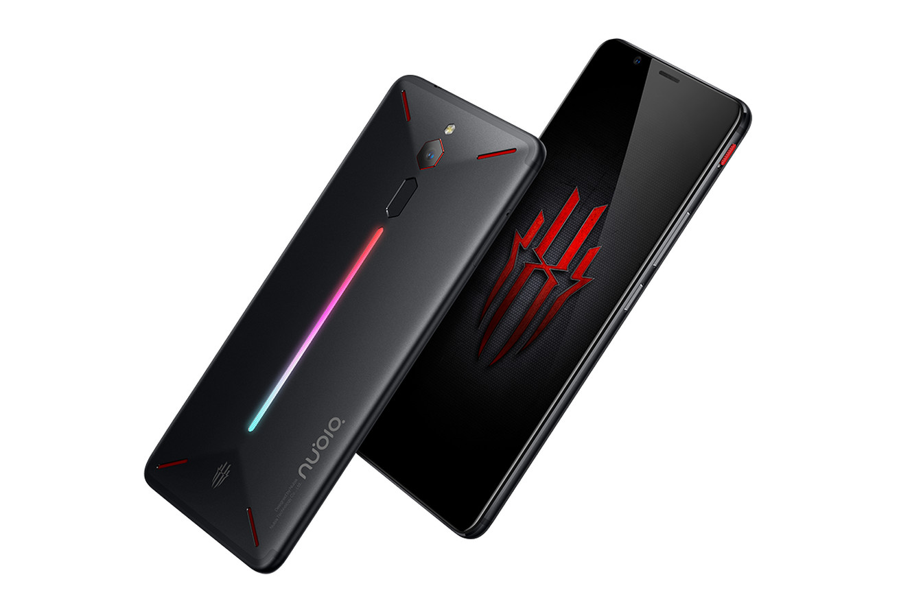 nubia s red magic smartphone is designed for gaming down to the glowing leds on the back