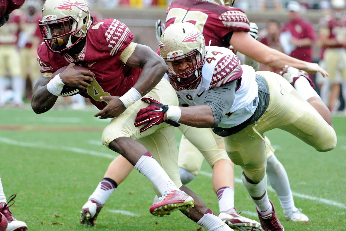Dalvin Cook and DeMarcus Walker