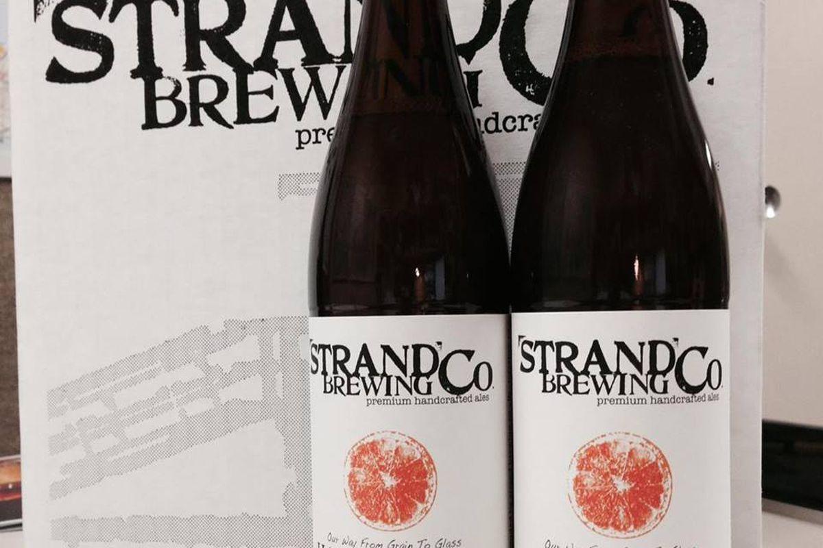 Strand Brewing bottles