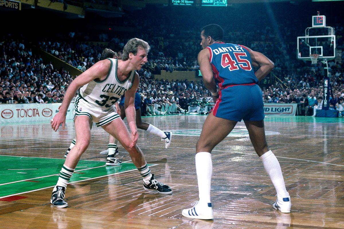 Detroit Pistons vs. Boston Celtics