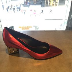 Pumps, size 36.5, now $214.40 (from $268)